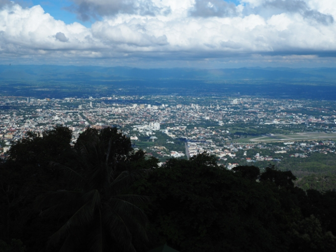 Chiang Mai from above