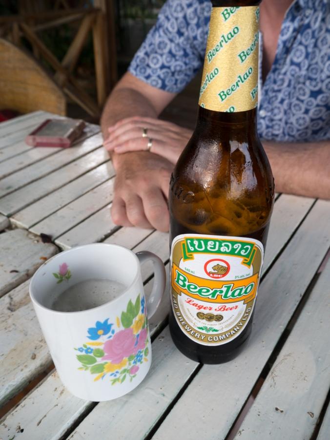 Beerlao... in a mug