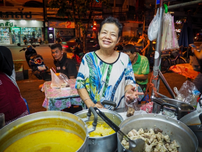 Creator of the best green curry