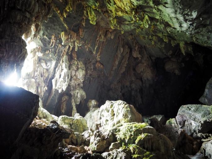 Inside Tham Phu Kham Cave